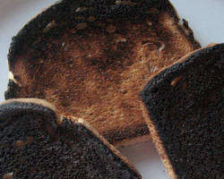 Acrylamide au menu du Nouvel An